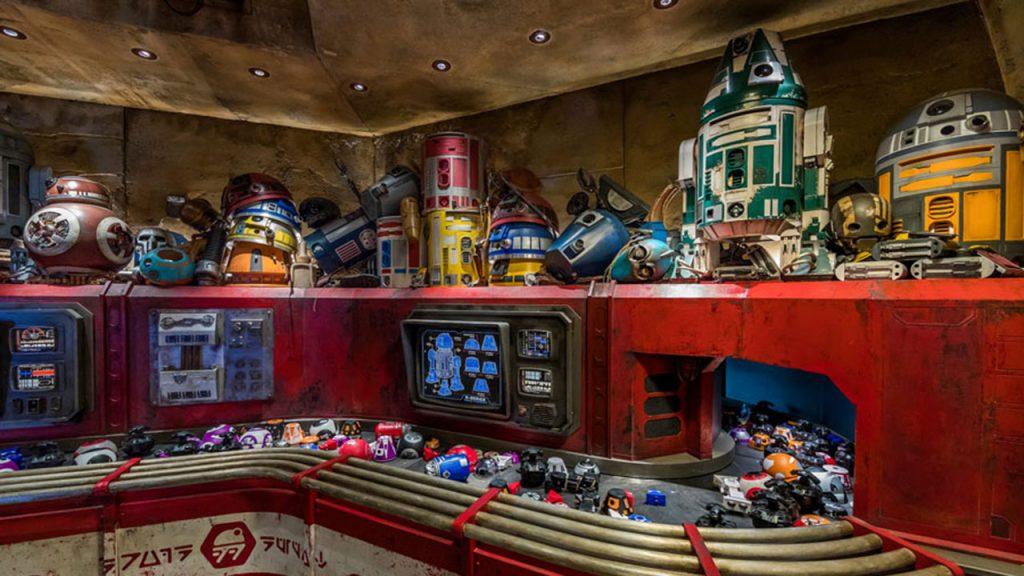 Droid Depot at Walt Disney World