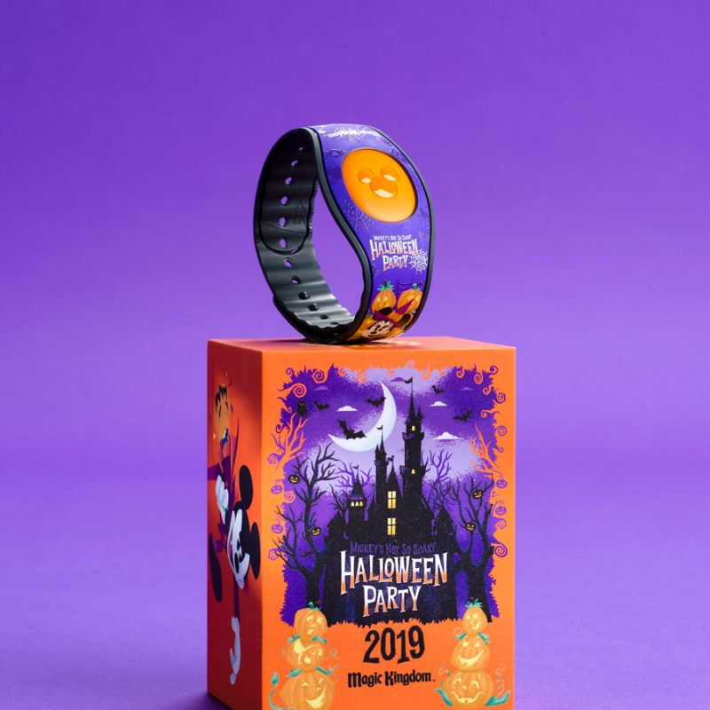 Mickey's Not So Scary Halloween Party MagicBand