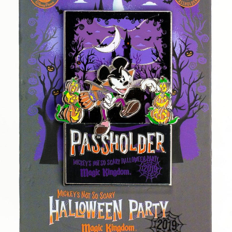 Mickey's Not So Scary Halloween Party Exclusive Pin