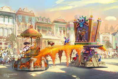 Magic Happens Parade - Coco Float
