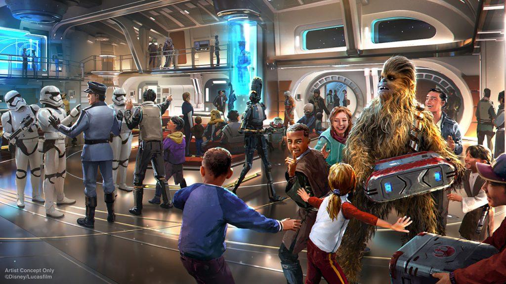 Disney Star Wars Halcyon Resort Experience