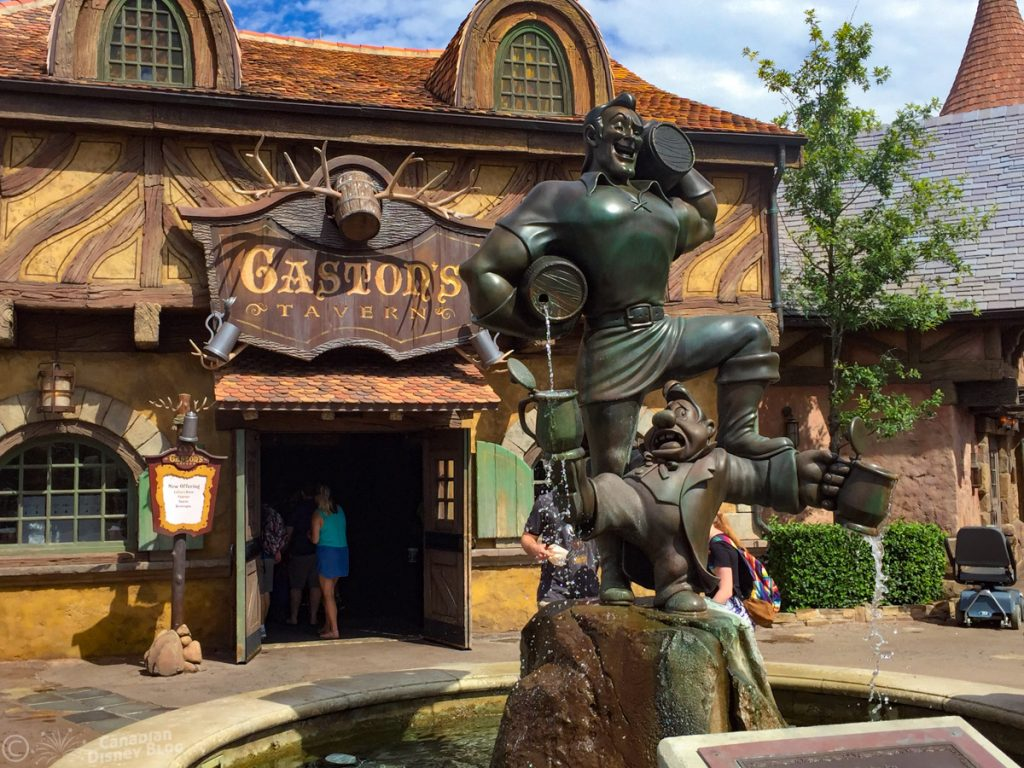 Gaston's Tavern in Magic Kingdom