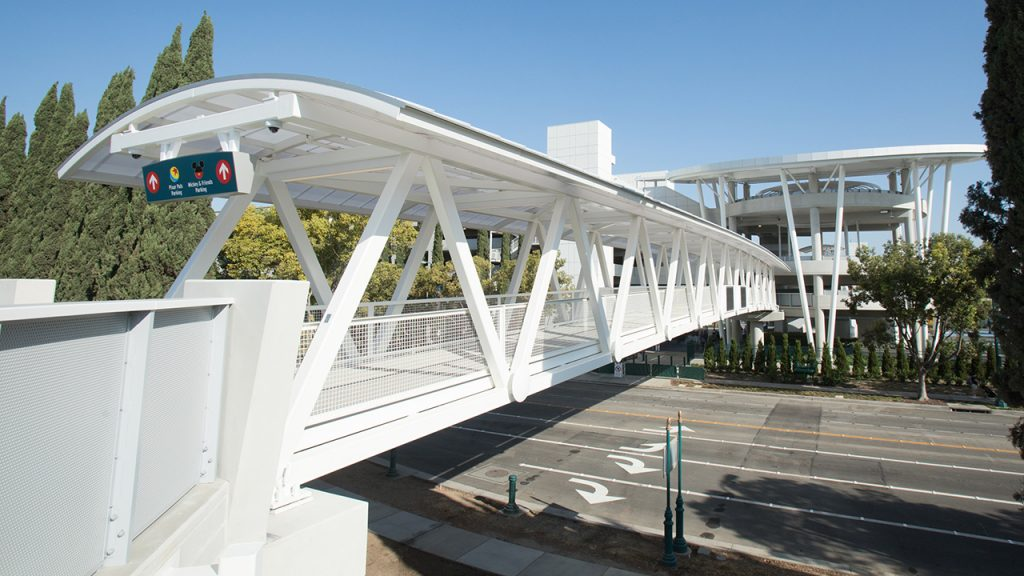 Disneyland Pedestrian Bridge