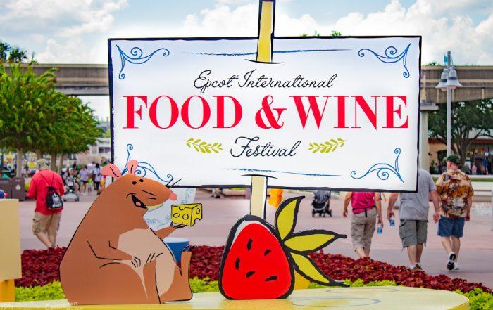 Epcot International Food & Wine Festival 2019