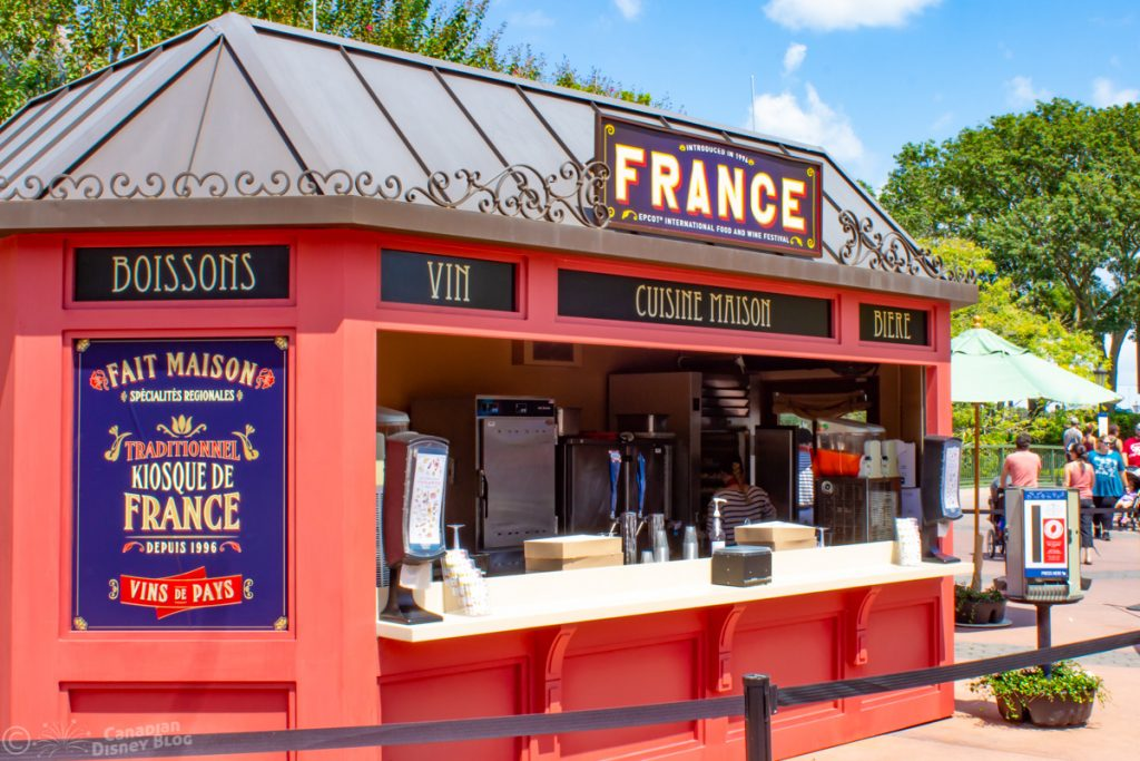 France Booth at Epcot Food & Wine Festival