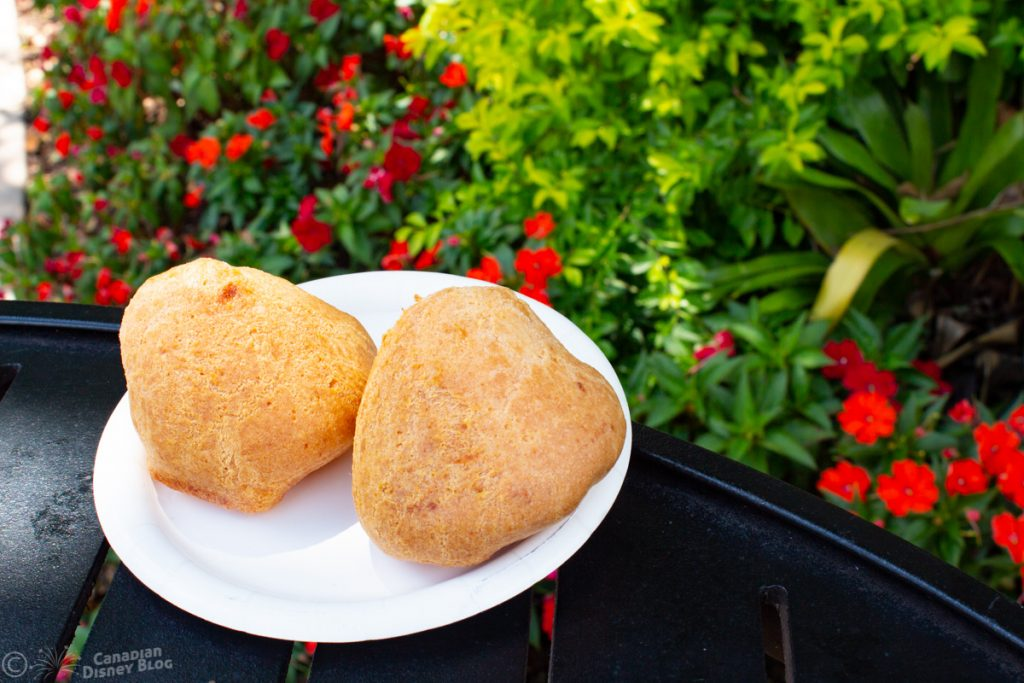 Brazilian Cheese Bread from Brazil Booth at Epcot Food & Wine Festival