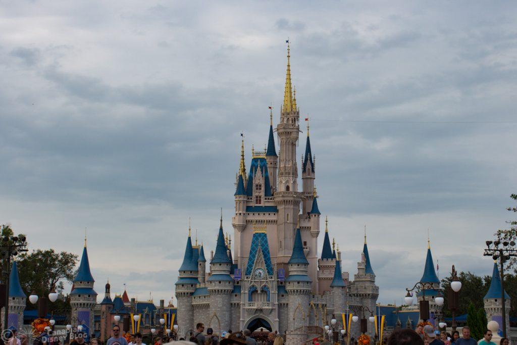 Cloudy Cinderella Castle