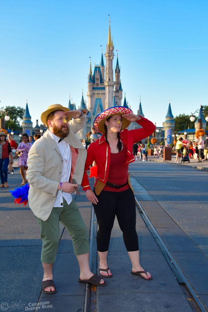 Ryan and Lauren search for Donald during Mickey's Not So Scary Halloween Party's Not So Scary Halloween Party-5