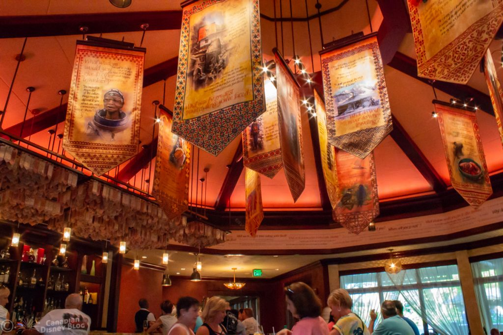 Interior at the Nomad Lounge