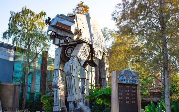 AT-AT at Star Tours - The Adventures Continue