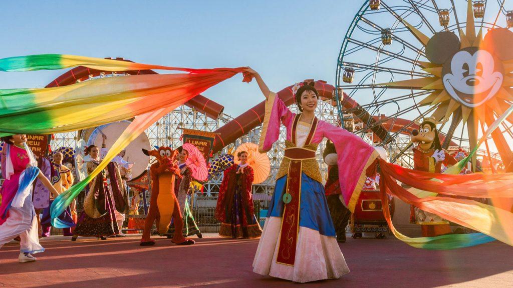 Lunar New Year at Disney California Adventure Park