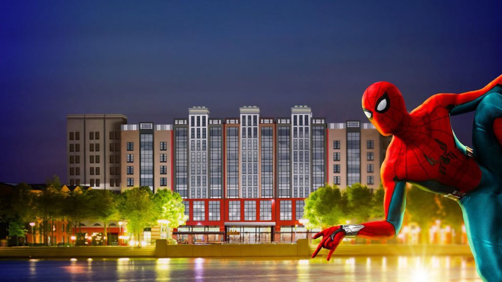 Disney's Hotel New York – The Art of Marvel at Disneyland Paris