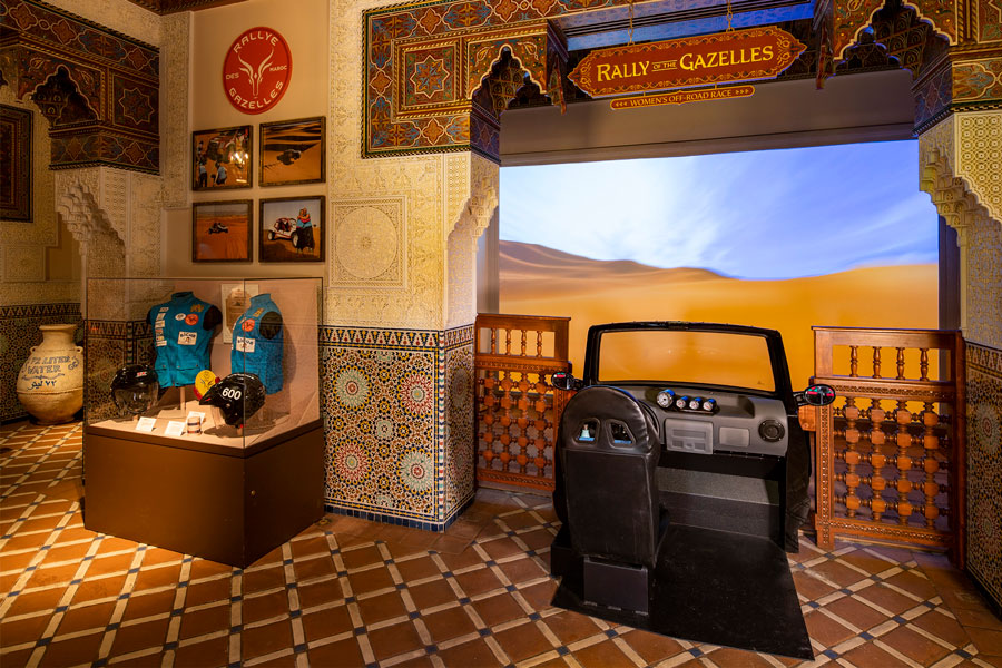 Race against the Sun at the Morocco Pavilion