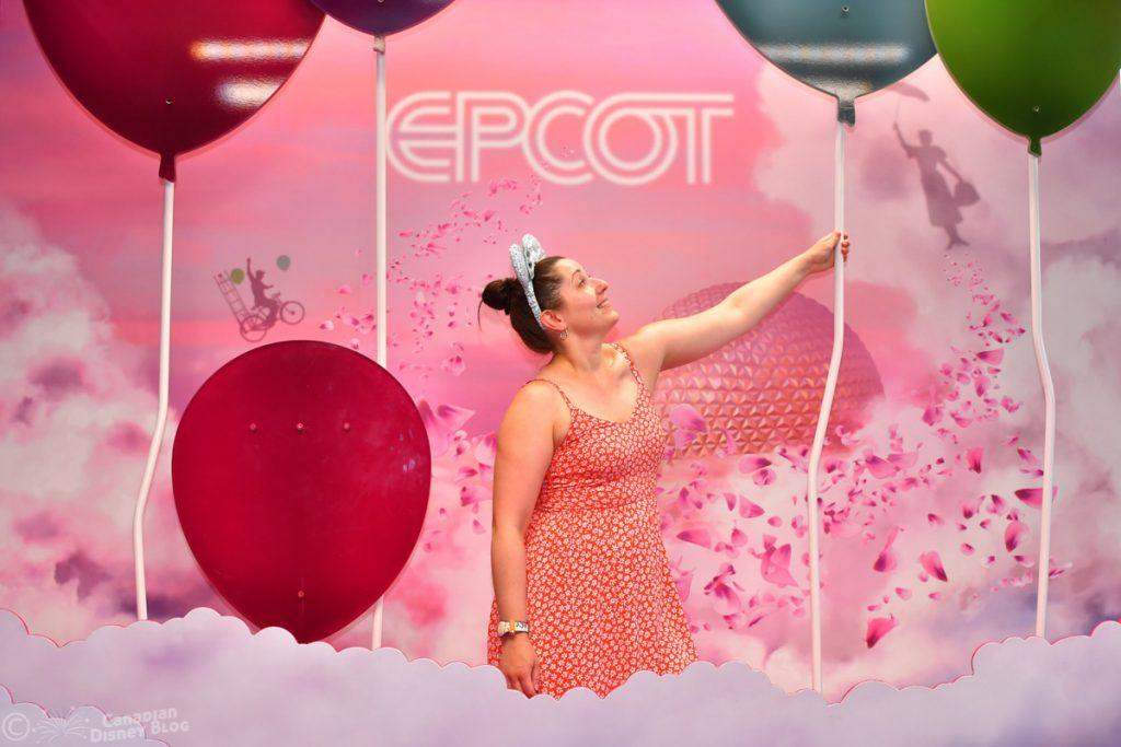 Lauren at Epcot