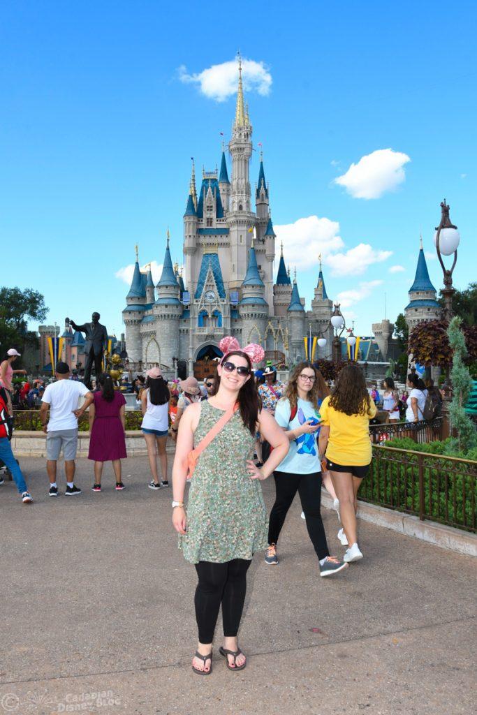 Lauren at Cinderella Castle