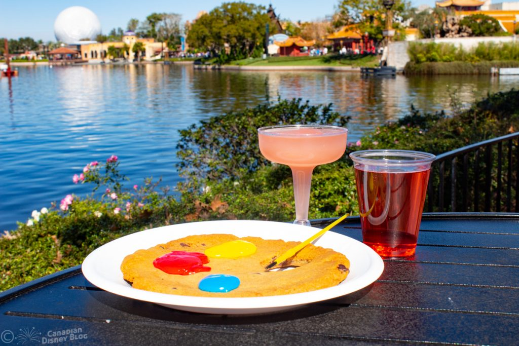 Artists Palette Cookie at Epcot Festival of the Arts