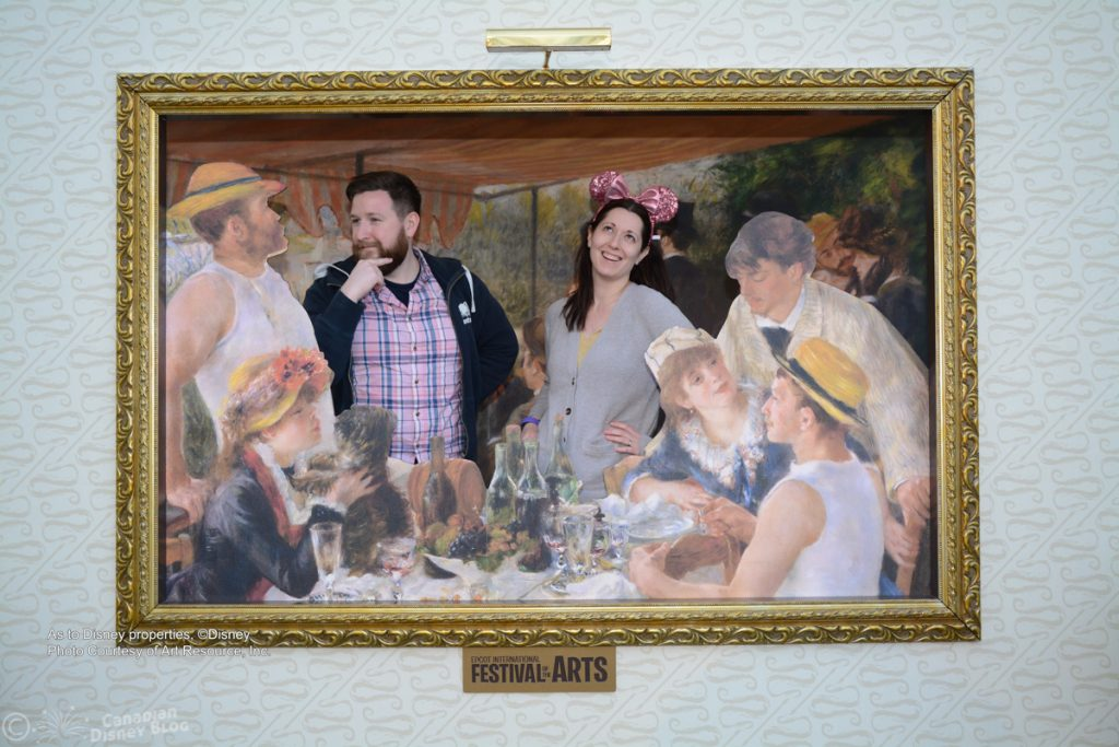 Ryan and Lauren at the Epcot Festival of the Arts