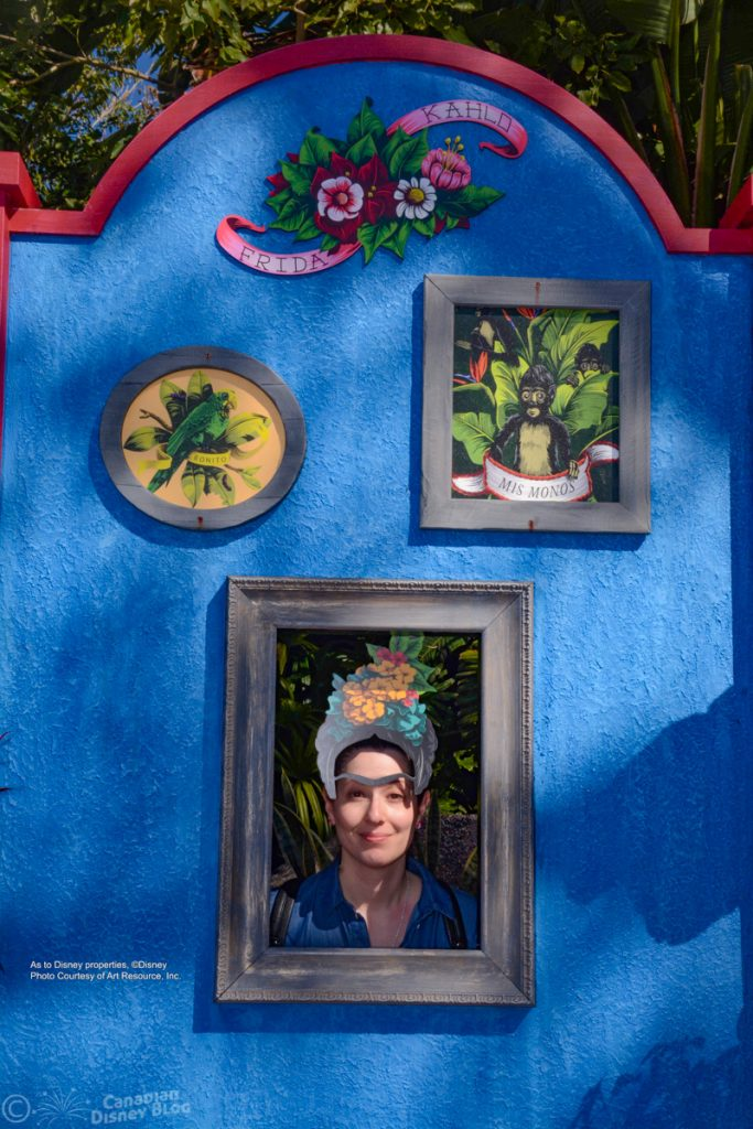Lauren at the Epcot Festival of the Arts