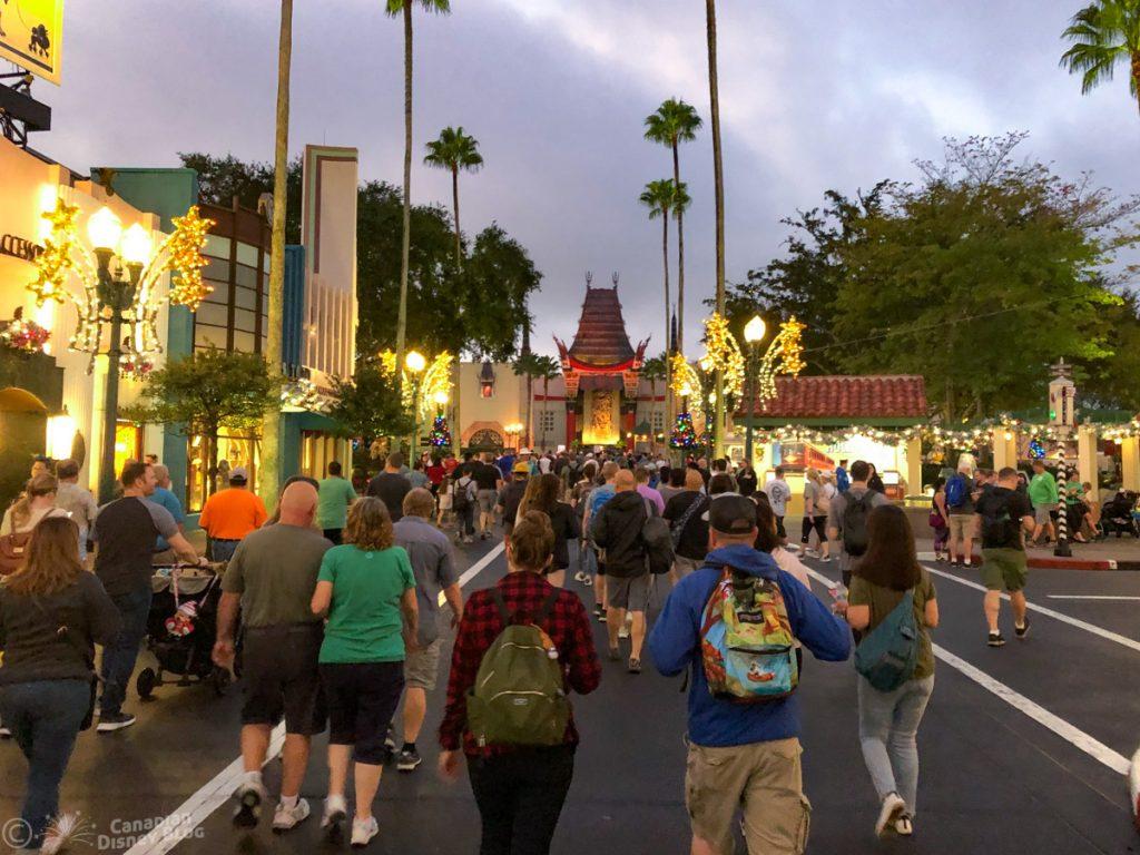 Crowd at Disney's Hollywood Studios