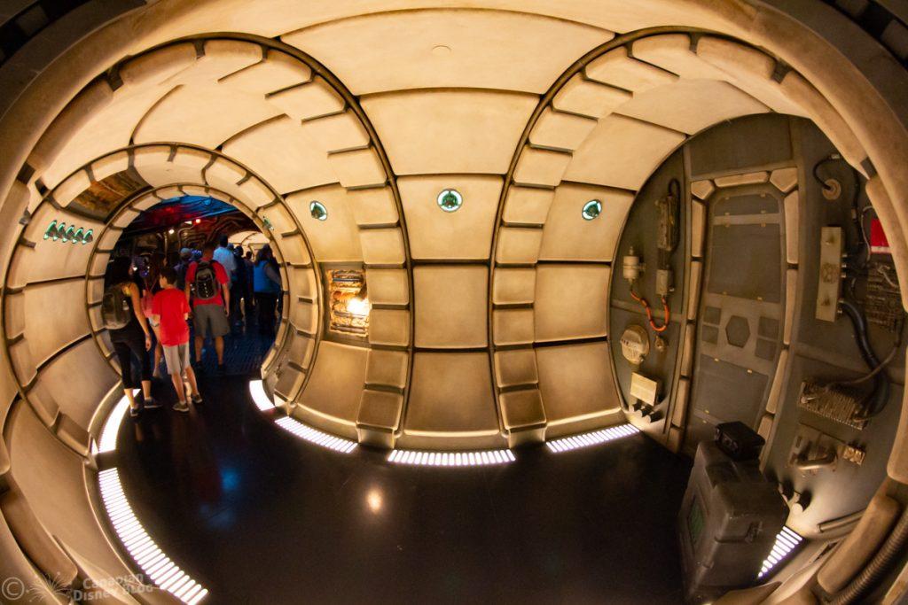 Millennium Falcon: Smuggler's Run in Star Wars Galaxy's Edge