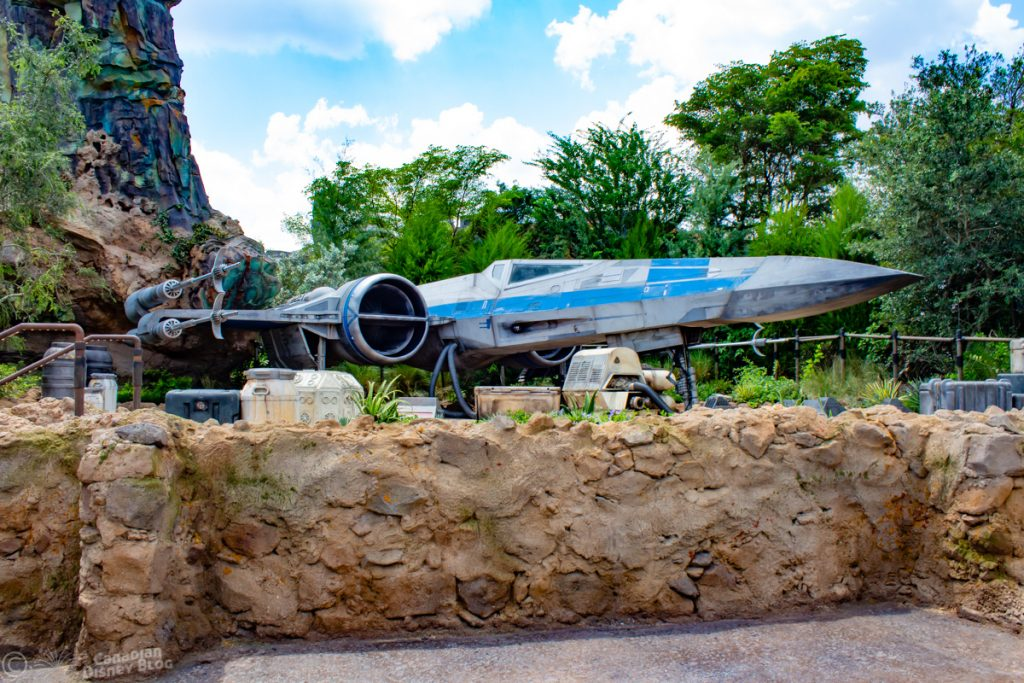X-Wing in Star Wars Galaxy's Edge