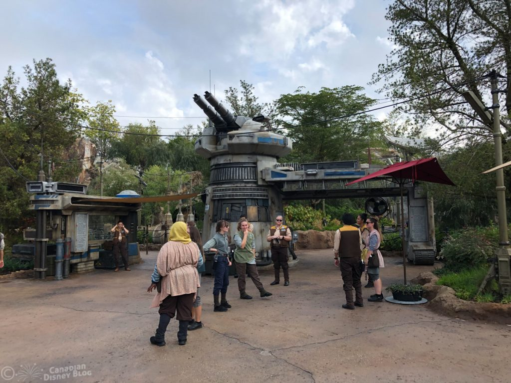Rise of the Resistance in Star Wars Galaxy's Edge