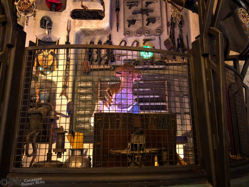 Dok-Ondar's Den of Antiquities in Star Wars Galaxy's Edge