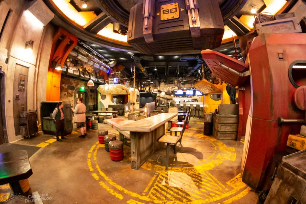 Docking Bay 7 Food and Cargo in Star Wars Galaxy's Edge
