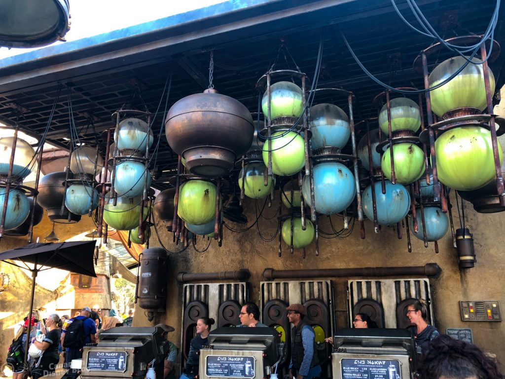Milk Stand at Star Wars Galaxy's Edge