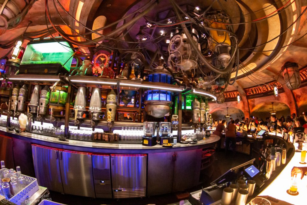 Oga's Cantina at Star Wars Galaxy's Edge