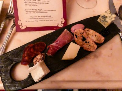 Assorted Meats and Artisanal Cheese Selection at Be Our Guest Restaurant