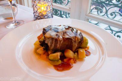 Grilled Beef Tenderloin at Monsieur Paul