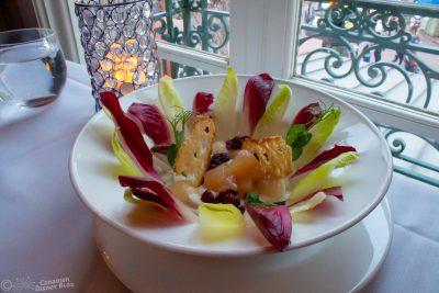 Pear and Endive Salad at Monsieur Paul