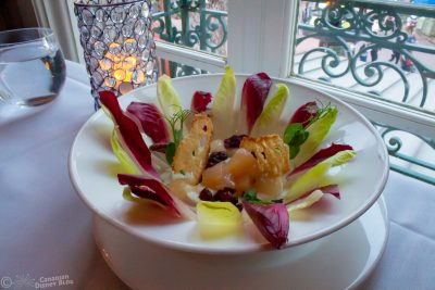 Pear and Endive Salad at Monsieur Paul