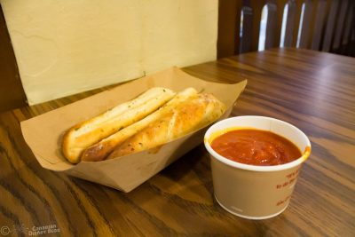 Garlic Breadsticks from Pinocchio Village Haus