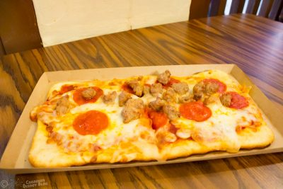 Meat Lovers Flatbread from Pinocchio Village Haus