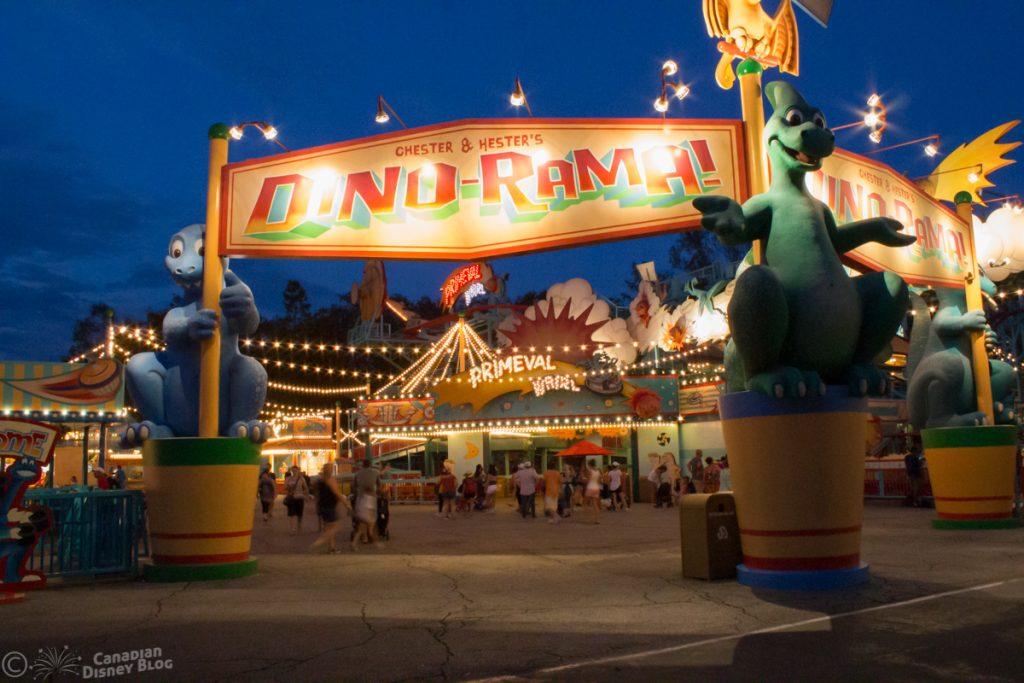 Dinoland USA at Disney's Animal Kingdom