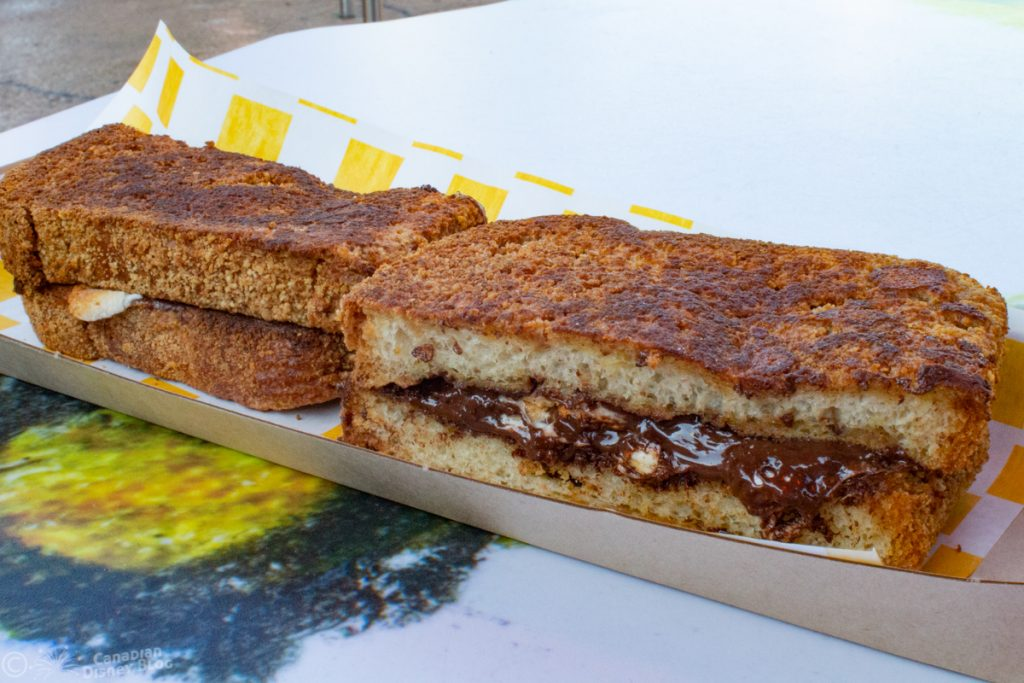 S'more French Toast Sandwich from Woody's Lunchbox in Toy Story Land at Disney's Hollywood Studios