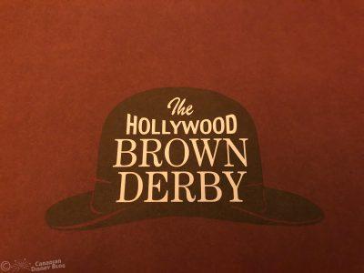 The Hollywood Brown Derby Restaurant in Disney's Hollywood Studios