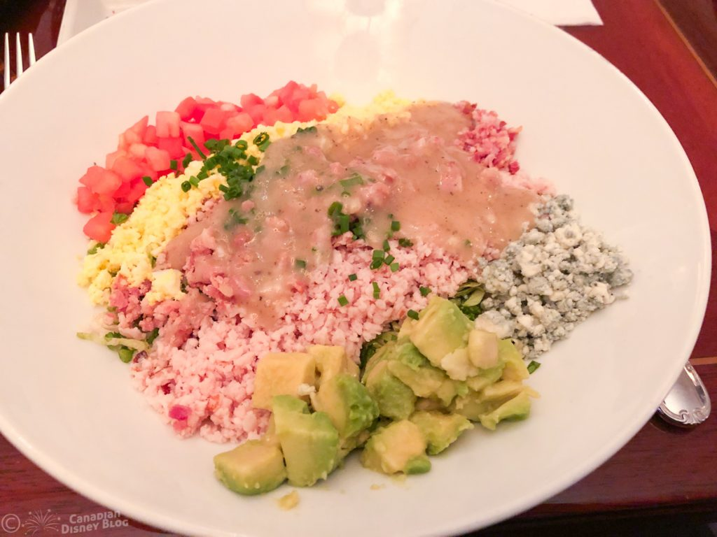 The Famous Cobb Salad from the Hollywood Brown Derby Restaurant in Disney's Hollywood Studios