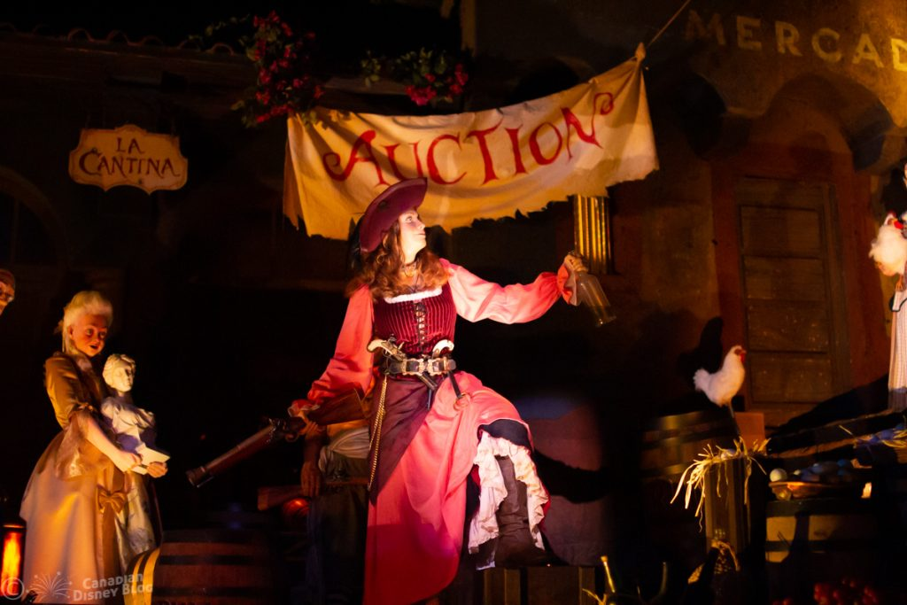 Pirates of the Caribbean at the Magic Kingdom