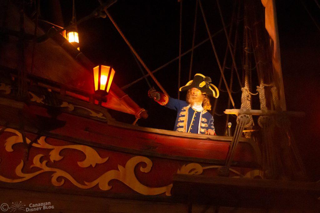 Pirates of the Caribbean at the Magic Kingdom