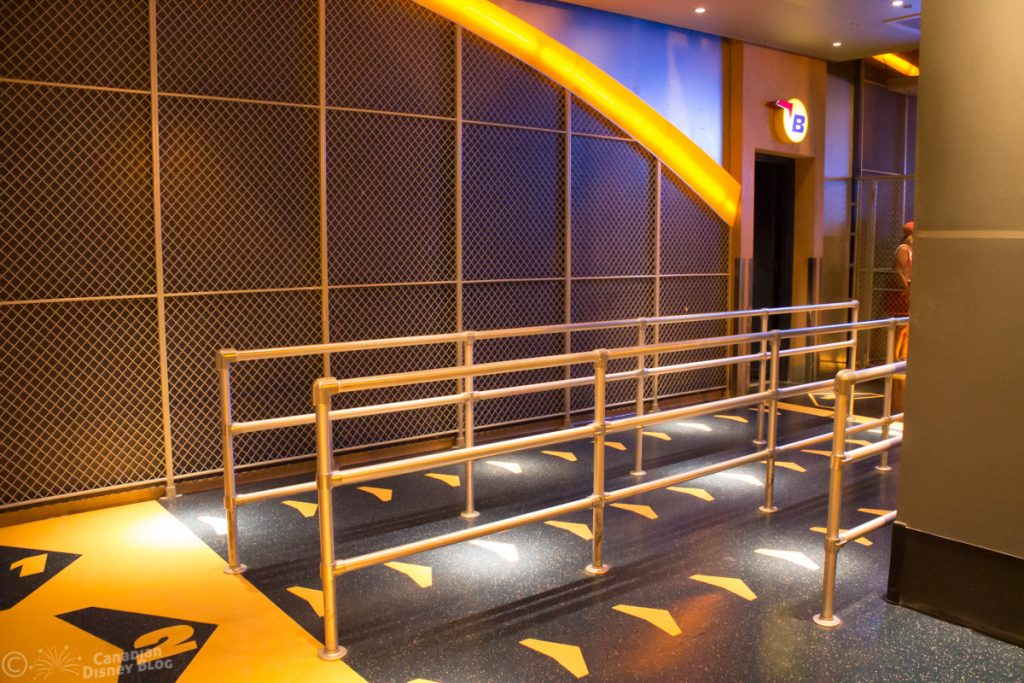 Soarin' queue at Epcot