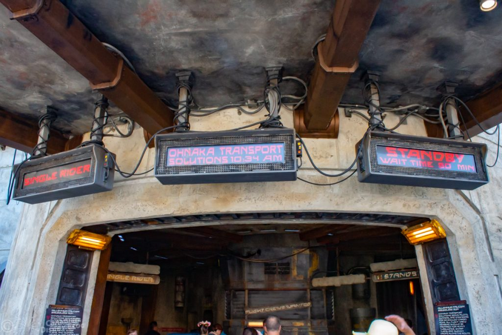 Milennium Falcon: Smugglers Run in Star Wars: Galaxy's Edge at Disney's Hollywood Studios