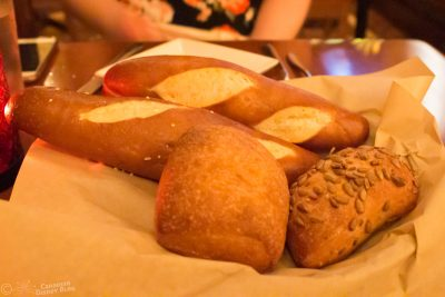 Bread Service at Le Cellier in Epcot