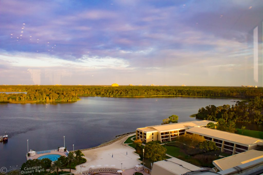 The View from California Grill at Disney's Contemporary Resort