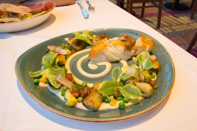 Grouper with herb gnocchi from California Grill at Disney's Contemporary Resort