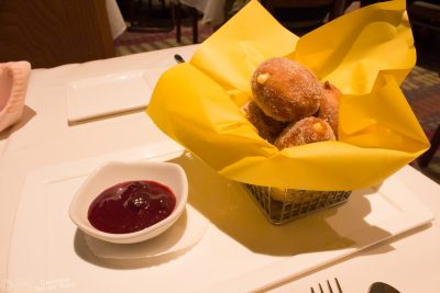Beignets from California Grill at Disney's Contemporary Resort