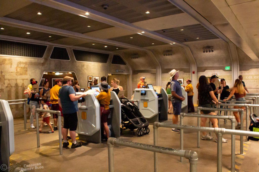 Ordering Stations at Satu'li Canteen in Pandora at Disney's Animal Kingdom