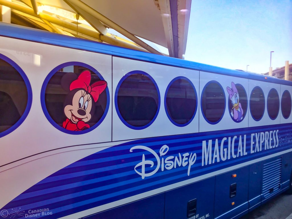 Disney's Magical Express at the Orlando International Airport